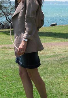 A Slouchy Jacket Burda 7401 by SewBuzyLizzy