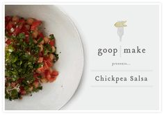 Chickpea Salsa- Protein from the chickpeas sates between-meal hunger in this bean salad meets salsa. Pack in a jar for convenient snacking. -Ingredients  • 1-15oz jar or can of chickpeas, rinsed  • 1 small red onion, finely chopped  • 2-3 tomatoes, chopped  • handful of cilantro, chopped  • 3 tablespoons olive oil  • 2 tablespoons white wine vinegar  • juice of 1 lime  • 1 fresh jalapeño, seeded & finely chopped  Preparation-Combine all ingredients in a large mixing bowl and give it a good…