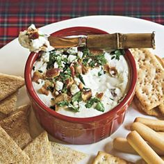 Ready-to-Serve Tailgating Recipes: Bacon-Cheese Dip