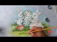 Coelha com Filhote em Tecido (Aula 117 / Parte 2) - YouTube