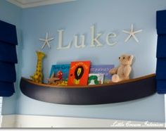 Go with nautical baby room.