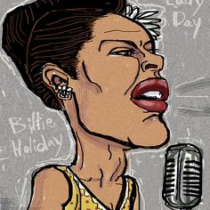 Billie Holiday Lady Day by Shan Stumpf