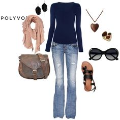 """""""My first Polyvore outfit!"""" by shannonul165 on Polyvore"""