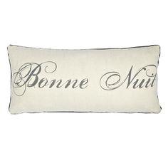 £10 Buy John Lewis Maison Bonne Nuit Cushion Online at johnlewis.com