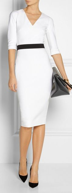 Magnificent wear to work - nice photo Office Fashion, Work Fashion, Business Fashion, Look Office, Office Style, Dresscode, Power Dressing, Mode Chic, Professional Outfits