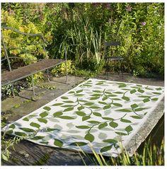 Fab Habitat: Indoor / Outdoor rug - Fab idea!