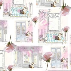Scrapbook Paper, Scrapbooking, Phone Wallpapers, Vintage Paper, Textile Design, Coasters, Gallery Wall, Patterns, Prints