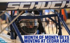 Month of Money Will Gain Momentum at Cedar Lake Speedway CONCORD, NC - June 19, 2017 - The World of Outlaws Craftsman® Sprint Car Series confronts Cedar Lake Speedway on Friday and Saturday, July 7-8, for the FVP Platinum Battery Showdown. F...