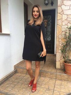 Black Cape Dress -> www.soigne.ro