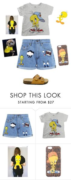 """""""Tweety😍😍"""" by leighanne679 ❤ liked on Polyvore featuring Paul & Joe Sister, ElevenParis and Moschino"""