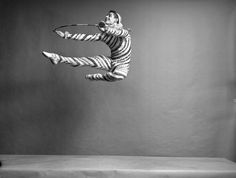 """New York City Ballet """"The Nutcracker""""   Edward Villella as a Candy Cane (Hoops), choreography by George Balanchine"""