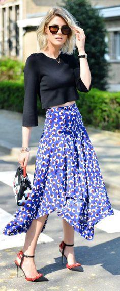 Stella Mccartney Skirt Streetstyle by Fashionata