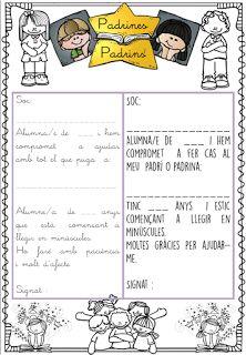 INFANTILCASTELL: materiales, fichas, recursos educación infantil : padrins padrines lectors