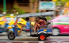 Thailand is one of the most prosperous and modern countries in all of Southeast Asia and thus, its options in public transportation are incredibly modern.