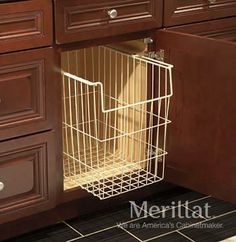Explore Merillat Cabinets, your preferred source for exquisite kitchen and bath cabinets and accessories, design insipiration, and useful space planning tools. Kitchen Linens, Kitchen And Bath, Dirty Kitchen, Kitchen Sink, Kitchen Cabinets, Kitchen Cabinet Accessories, Bathroom Accessories, Upstairs Bathrooms, Master Bathrooms