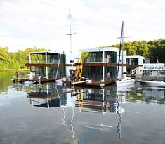 Floating home from Poland – Totally Deluxe, Modern and Mobile Water Home