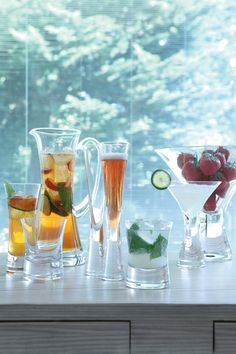 Just a few pieces from LSA International's ever-expanding stemware collection www.lsa-international.com #tableware #stemware #lsainternational