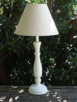 Lámpara blanca modelo Cambridge