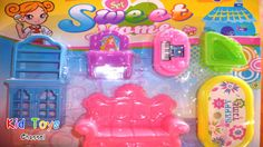 Sweet home, coffee table, desk, dressing table, chair Kid toy videos