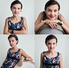 Millie Bobby Brown. / Aw, she's like a tiny Julie Andrews X