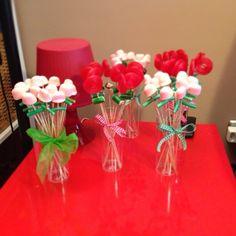 bouquet de fleurs bonbons