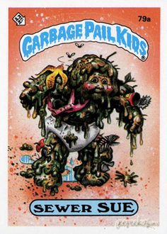GARBAGE PAIL KIDS - Original Series 2 Card Collection