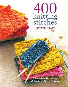 400 knitting stitches - Butik Paradisets bamser, tøj og brugskunst