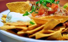 Trempette étagée et nachos santé