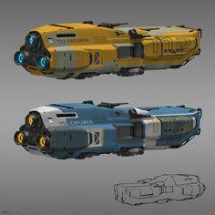 ArtStation - Explorer, Mehrdad Malek Ahmadi found by Spaceship Art, Spaceship Design, Stargate, Nave Star Wars, Space Opera, Sci Fi Spaceships, Starship Concept, Arte Cyberpunk, Space Battles