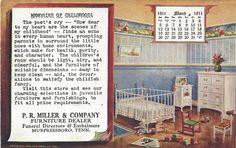 1911 P.R. Miller Furniture Dealer Murfreesboro Tennessee PC Used