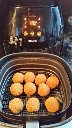 Mini eierbal gebakken in de Airfryer