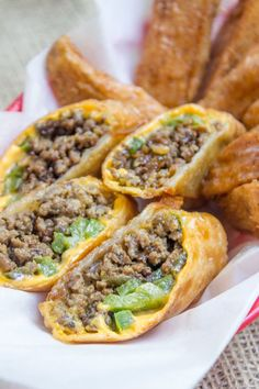 Cheesesteak egg rolls have all the flavors of the classic Philly Cheese Steak Sandwich in a crispy shell and made with ground beef! So easy to make and they taste. sub Fathead dough Seared Salmon Recipes, Pan Fried Salmon, Pan Seared Salmon, Egg Roll Recipes, Steak Recipes, Cooking Recipes, Healthy Recipes, Sandwich Recipes, Bariatric Recipes
