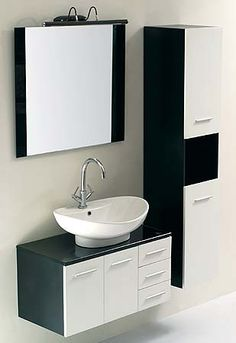JJT Trading VG054 Ceramic 31-in Wall Mounted Bathroom Vanity | ATG Stores