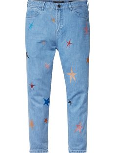 Scotch and Soda Johnny - Foil Printed Boyfriend Trousers Spy Outfit, Couture Outfits, Star Print, Latest Fashion Trends, Style Guides, Lifestyle Blog, Cool Outfits, Trousers, Boyfriend