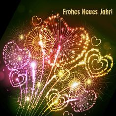 Beautiful greetings to the New Year 2017 - Silvesterbilder - Neujahr Happy New Year 2018, New Year 2017, Happy Year, Christmas And New Year, Xmas, New Year Fireworks, New Year Pictures, Nouvel An, New Years Eve