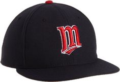 MLB Minnesota Twins Authentic On Field Alternate 59Fifty Fitted Cap, Navy, 6 7/8