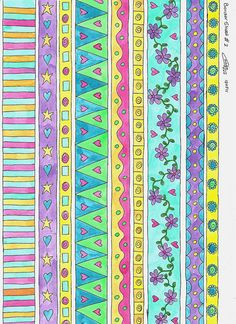 Freebie border sheet  #2 by Caatje's Artsy Stuff, via Flickr