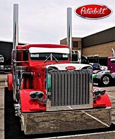 #semisSEMI'S Small Trucks, Trucks And Girls, Big Rig Trucks, Dump Trucks, Peterbilt 359, Peterbilt Trucks, Dump Trailers, Gas Monkey Garage, Show Trucks