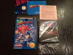 Megaman 5 Nintendo Nes Pal B Fra New Unused
