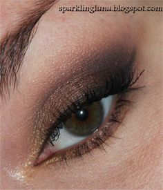 Sparkling Luna: EOTD : Zoeva Rose Golden palette : Rusty Petals - Wonder Full - Golden Rule and Luster