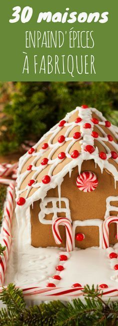 30 maisons en pain d'épices à fabriquer ! Xmas Food, Christmas Desserts, Christmas Baking, Christmas Cookies, Christmas Mood, Noel Christmas, Holiday, Best Sweets, Kinds Of Cookies