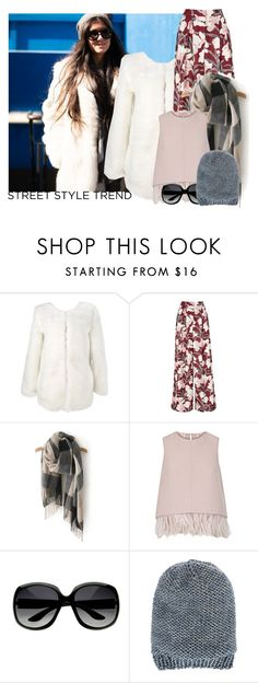 """""""NYFW: Day 3"""" by xo-kallio ❤ liked on Polyvore featuring Keepsake the Label, The 2nd Skin Co., Anna Kula, women's clothing, women, female, woman, misses, juniors and StreetStyle"""