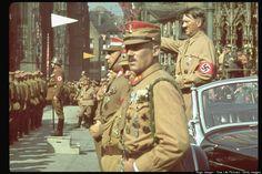 Fotografías de Hitler en color (cuando no existía Instagram)