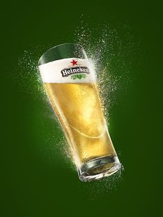 HEINEKEN by nick strong, via Behance