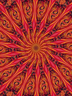 Ring of Fire Mandala PamMarin-Kingsley