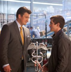 Percy Jackson: Sea of Monsters (2013) - Nathan Fillion as Hermes...loved the Firefly reference...one of the few good things in the movie!