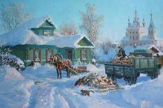 Зима на мороз., автор Владимир. Артклуб Gallerix