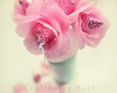 Craftberry Bush: Bouquet of hugs and kisses...a Valentine favour