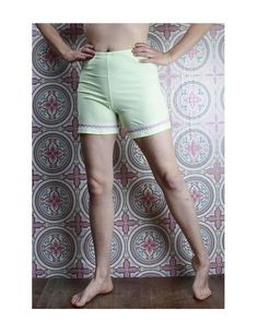60's Knickers in my Etsy shop https://www.etsy.com/ca/listing/574389480/60s-nylon-bloomers-pastel-lime-green