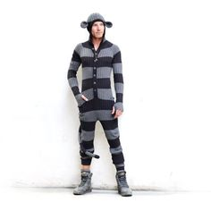 MONKEY SUIT for Men and Women - Adult One Piece Jumpsuit - Long Johns - Bendable Tail - Designer Spencer Hansen for Blamo Toys hahahahahahahahahahahahahahahahahahahahahaha Monkey Halloween Costume, Women Halloween, Long Johns, Long Jumpsuits, Christmas Pajamas, Overall, Festival Wear, Adult Costumes, Mens Suits
